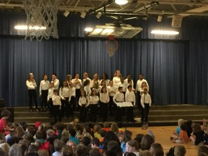 The Quire at their concert.